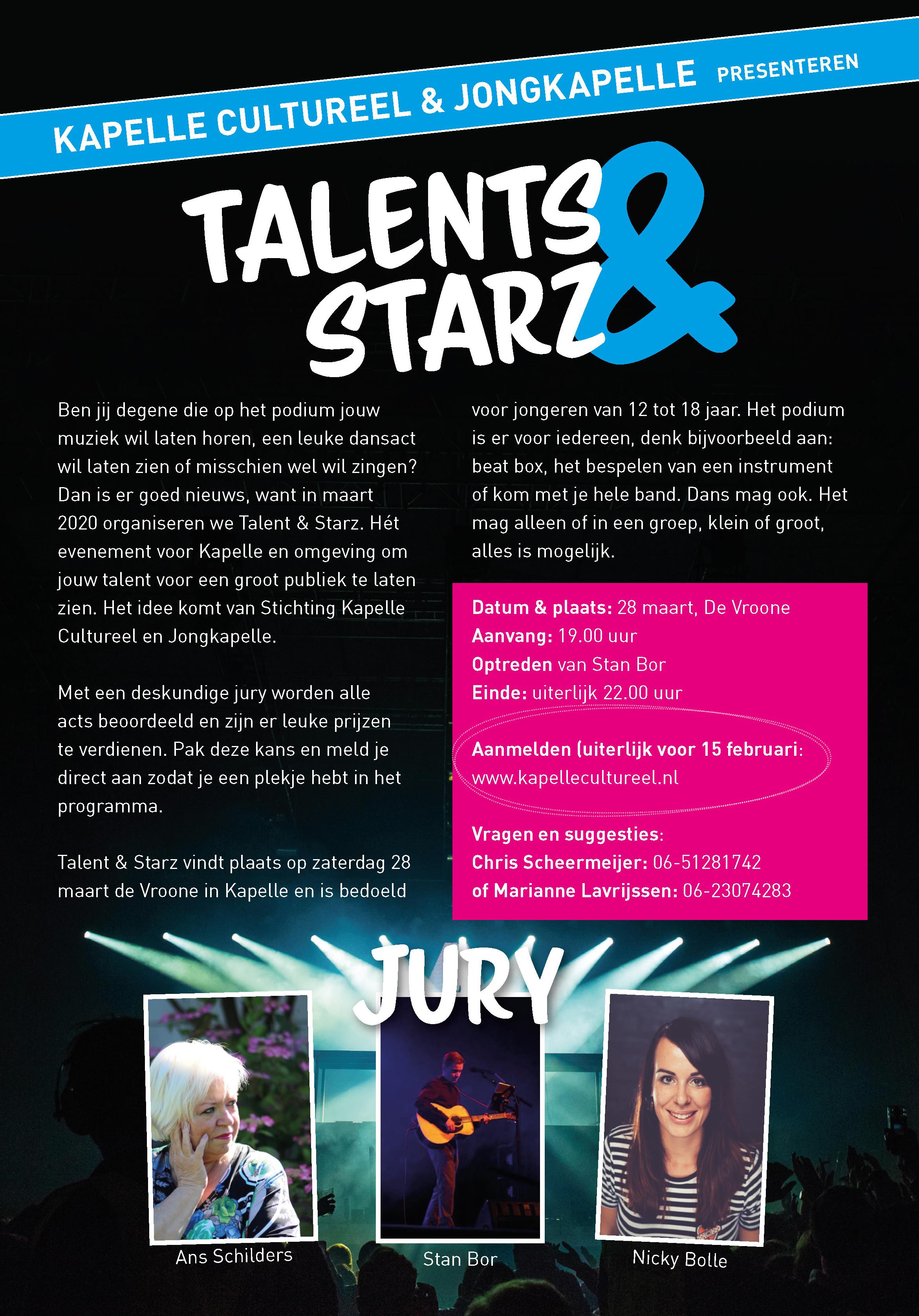 Talents & Starz @ De Vroone